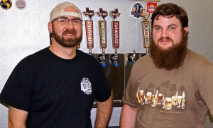 Carl & Jonny on Fort Bend BC Imperial Pumpkin Porter
