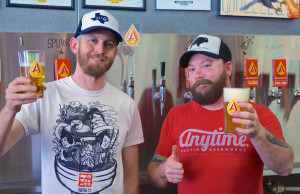 Michael and Will of Austin Beerworks. Will, your being modest. You deserve 2 thumbs up.