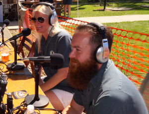 Heather and Blake Niederhofer of Lone Pint Brewing Company